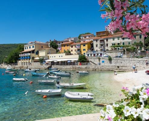 Ville typique de l'Istrie Croatie Europe Voyage