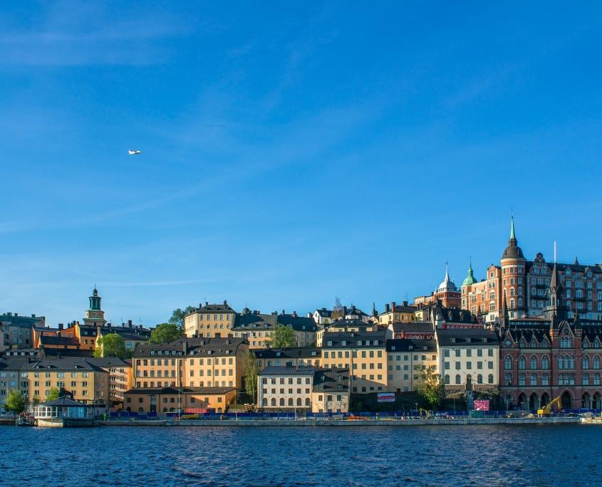 Scandinavie Stockholm Suede Voyage