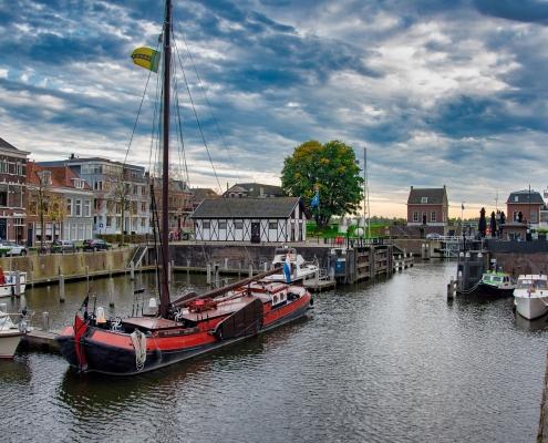 Port Gorinchen, Pays Bas Europe Voyage