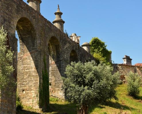 Aqueduc Tomar Portugal Europe Voyage