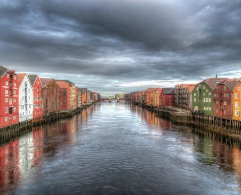 Trondheim, Norvège voyage