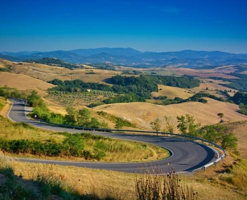 Paysage de Toscane Italie Europe Voyage