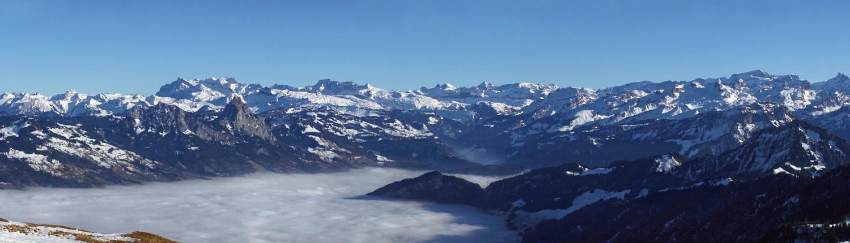 Alpes Suisse Montagnes Europe Voyage