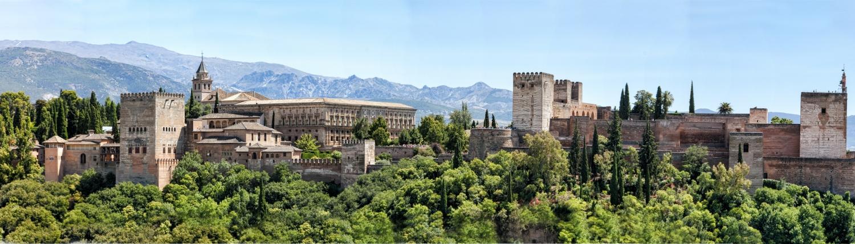 Alhambra Grenade Espagne Europe Voyage