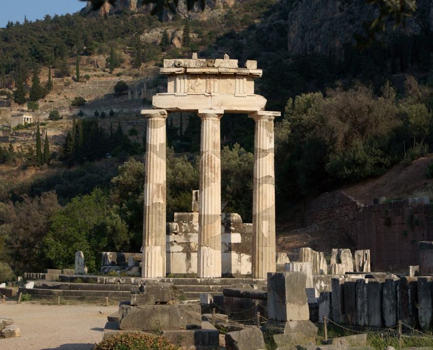 Temples de Delphes Grèce Europe Voyage