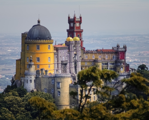 Palais Pena Sintra Portugal Europe Voyage