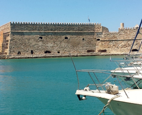 Port Héraklion Grèce Europe Voyage