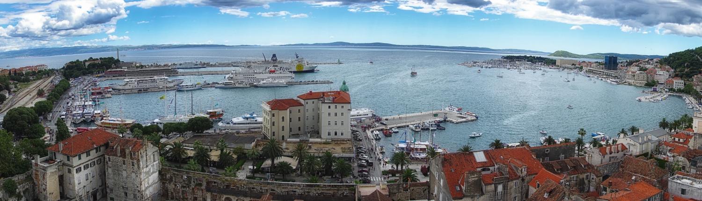Croatie Split Balkans Europe Voyage